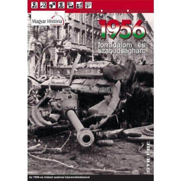 1956 - Forradalom és szabadságharc hajtogatott térkép duo