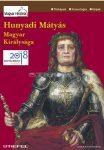 Hunyadi Mátyás magyar királysága hajtogatott térkép