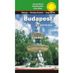 Budapest és környéke atlasz