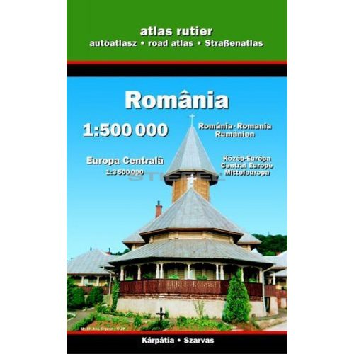 Románia autóatlasz (térkép)