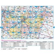Magyarország autóatlasz (térkép)