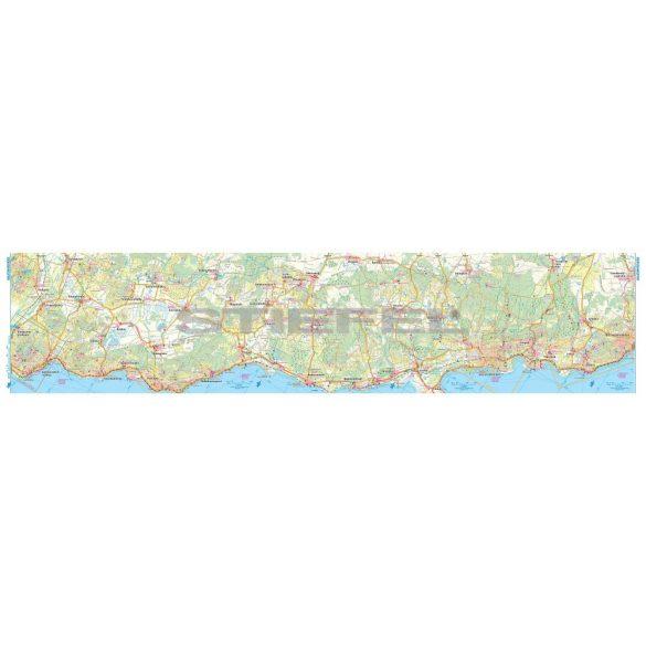 Balaton és környéke, Balaton-felvidék turistatérkép