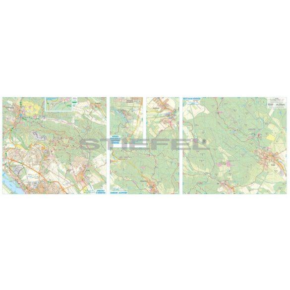 Cserhát turista- és biciklis térkép