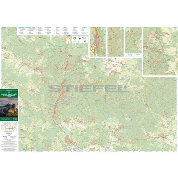 Karancs/Medves-vidék/Felső-Tarnai-dombság turistatérkép