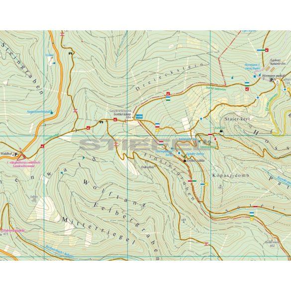 Kőszegi-hegység /Írottkő natúrpark turistatérkép