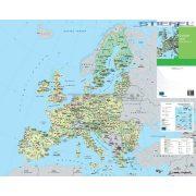 Európai Unió mezőgazdasági térképe fémléces