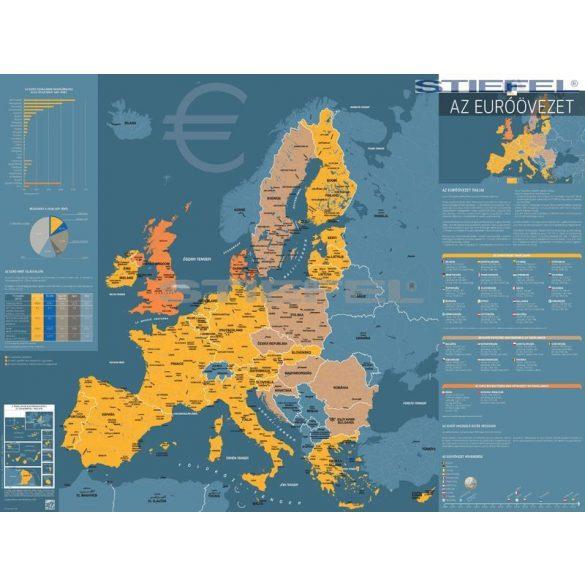 Euróövezet térképe fémléces