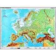 Európa, domborzati + vaktérkép DUO óriás térkép poszter