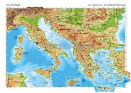 Dél-Európa domborzata DUO