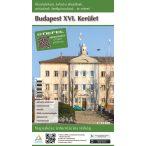 Budapest XVI. Kerület hajtogatott térkép