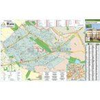 Budapest XVI. Kerület térkép, keretezett