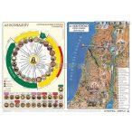 Az egyházi év és a Szentföld képes térképe