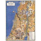 Képes térkép az Újszövetséghez fémléces