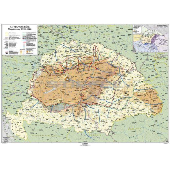 A trianoni békekötés következményei (kétoldalas óriásposzter)