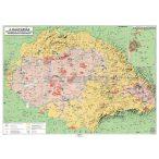 Magyar néprajzi térkép kétoldalas térkép