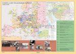 Európa a két világháború között kétoldalas óriás falitérkép poszter