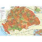 Hunyadi Mátyás Magyar Királysága (DUO - kétoldalas falitérkép)