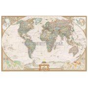 Föld antik színezésű térkép