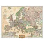 Európa antik színezésű térképe