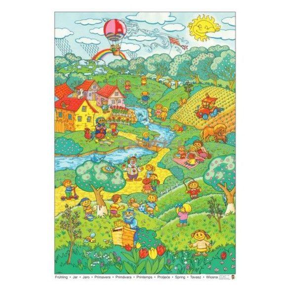 Tavasz tabló poszter