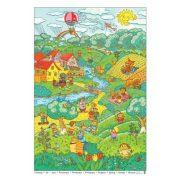 Tavasz tabló (fóliás-fémléces)
