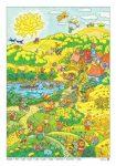 Nyár tabló (fóliás-fémléces)