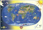 Gyermek világtérkép