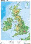 Nagy-Britannia domborzata
