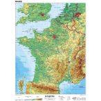 Franciaország, domborzati (francia)