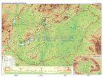 Magyarország domborzata tűzhető, keretes