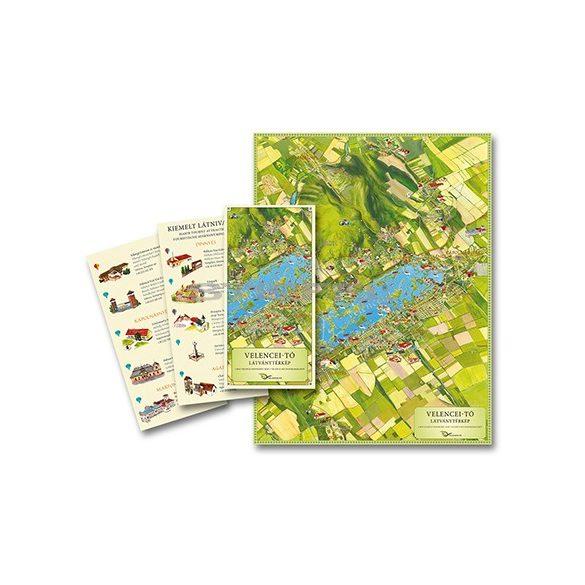 Velencei-tó látványtérkép