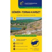Aggtelek-Gömör-Tornai turistatérkép