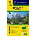Bakony-Észak turistatérkép