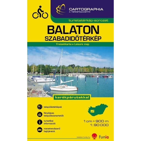 Balaton szabadidõtérkép