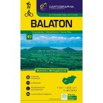 Balaton turistatérkép