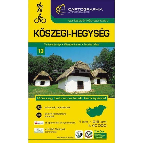 Kőszegi-hegység turistatérkép