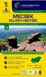 Mecsek, Villányi-hegység turistatérkép