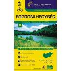 Soproni-hegység turistatérkép
