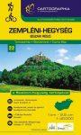 Zempléni-hegység észak turistatérkép