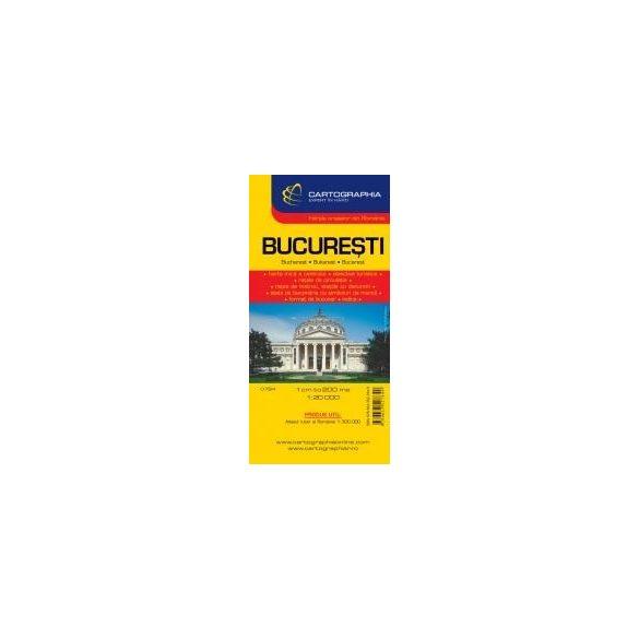 Bukarest várostérkép teljes
