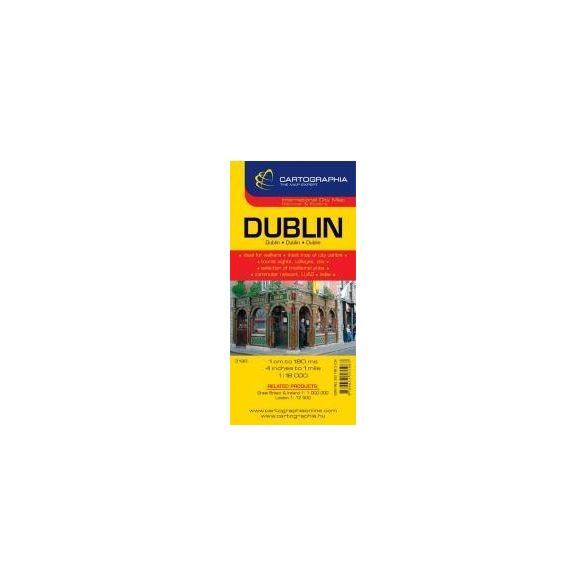 Dublin várostérkép