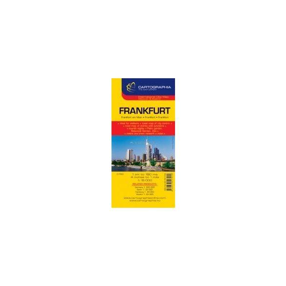 Frankfurt várostérkép
