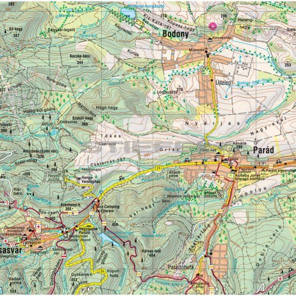 Mátra 3in1 túrázóknak és kerékpárosoknak