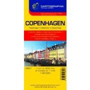 Koppenhága várostérkép