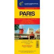 Párizs várostérkép