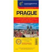 Prága várostérkép