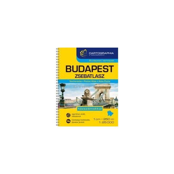 Budapest zsebatlasz
