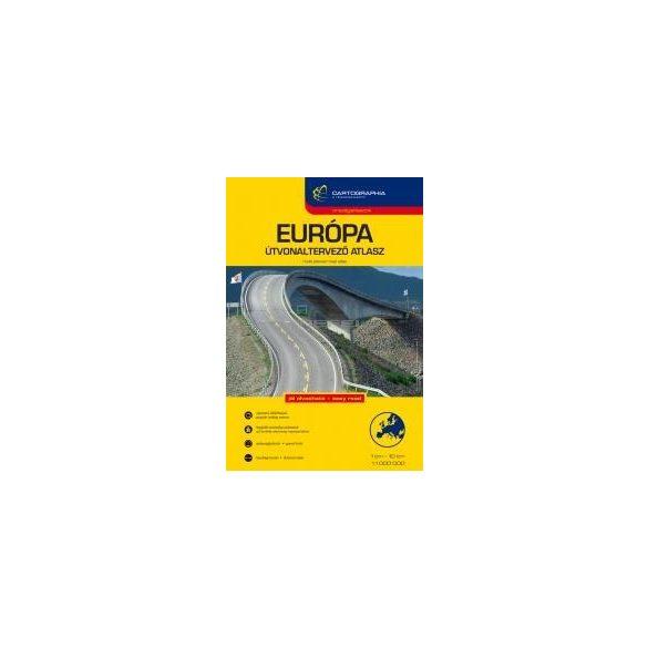 Európa Útvonaltervező atlasz