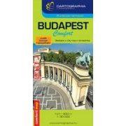 Budapest Comfort 1:30e. térkép (laminált)
