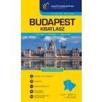 """Budapest autóatlasz 1:20e. """"kicsi"""" (kesztyűtartó méret)"""